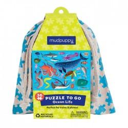 Puzle en bolsa de 36 piezas del océano