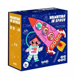 Puzles progresivos Valentina en el espacio