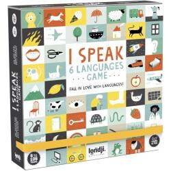 Juego de mesa - Aprendo 6 idiomas