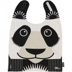 Babero gigante 100% algodón orgánico del panda
