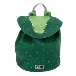 Mini mochila del cocodrilo