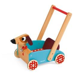 """Andador de madera """"Crazy Doggy"""""""