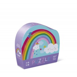 Mini puzle del arcoíris de 12 piezas