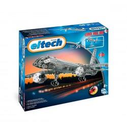 Set de construcción de avión de acero inoxidable de 570 piezas