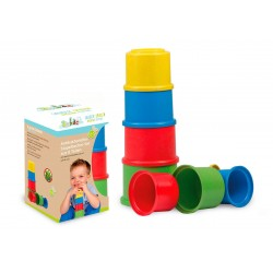 Cubos apilables eco-friendlies y antibacterianos