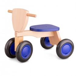 "Triciclo de madera ""Road Star"" de color azul"
