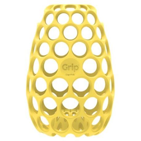 Funda o chaqueta Grip para biberón amarillo