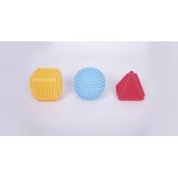 Set de figuras sensoriales de colores
