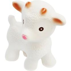 Sola, la cabra blanca mordedor de caucho (Sola the Goat white)