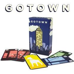 """Juego de mesa """"Go town"""""""