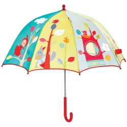 Paraguas de la Caperucita Roja