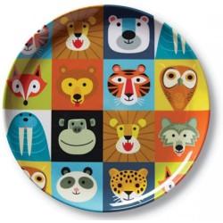 Plato de la vajilla animalia (Dinnerware Animalia Plate)