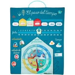 Calendario El paso del tiempo (Español)
