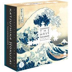 """Puzle de 1000 piezas """"Hokusai"""""""