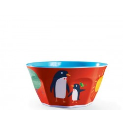 Bol de la vajilla del mundo bebé (Dinnerware Kids World Bowl)