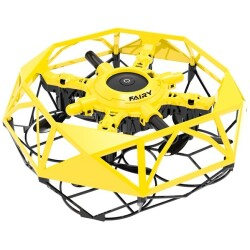 Mini drone volador Fly Dance controlable con las manos (amarillo)