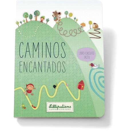 """El libro sensorial de los laberintos """"Caminos encantados"""" (Castellano)"""