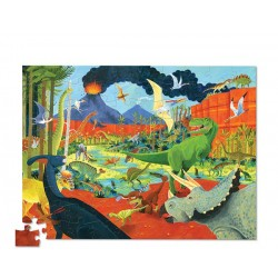 Puzle en caja 100 piezas - Dinosaurios