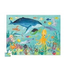 Puzle en caja 100 piezas - Animales del océano (Puzzle Canister 100 p 36 Ocean Animals)