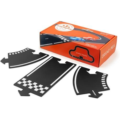 Carretera flexible para coches (Grand Prix) de 24 piezas