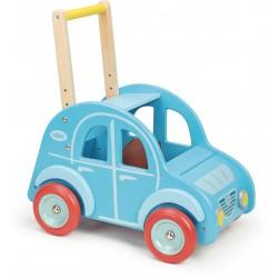 Andador de madera azul 2CV