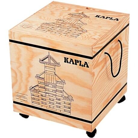 Caja de 1000 piezas de madera de construcción