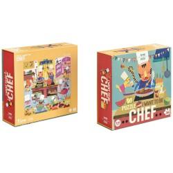 """Puzle de 36 piezas """"Quiero ser chef"""""""