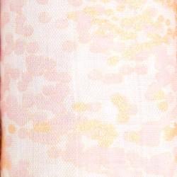"""Muselina de viscosa de bambú """"metallic primrose birch silky soft"""" estampado Aztec"""