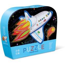 Mini puzle del cohete de 12 piezas