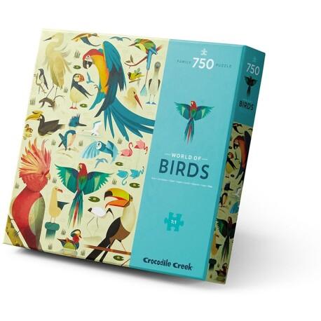 Puzle de 750 piezas del mundo de los pájaros