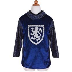 Disfraz Sir Gallahad azul/plata (4-6 años)