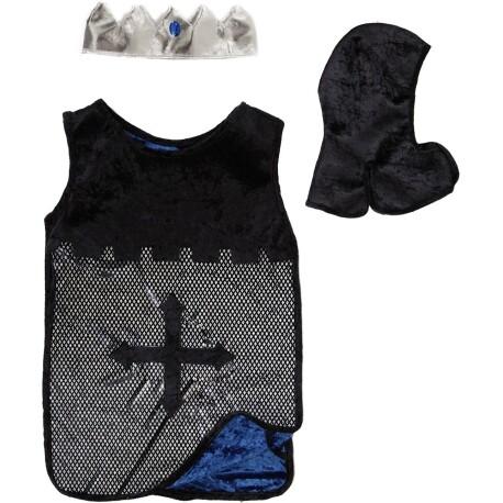 Disfraz caballero azul y plata (4-7 años)
