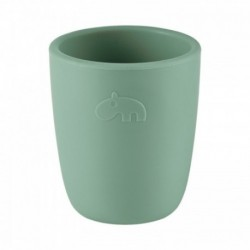 Mini vaso de silicona verde