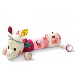 Cojín de actividades de la unicornia Louise