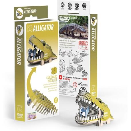 Puzle 3D Caimán Eugy de Dodoland
