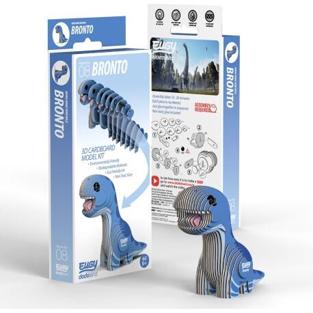 Puzle 3D Brontosaurio Eugy de Dodoland