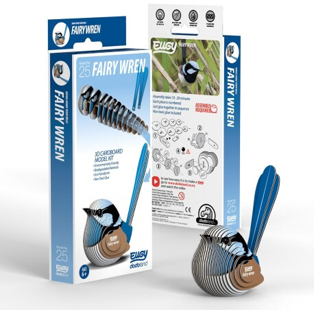 Puzle 3D Ratona Australiana Azul Eugy de Dodoland