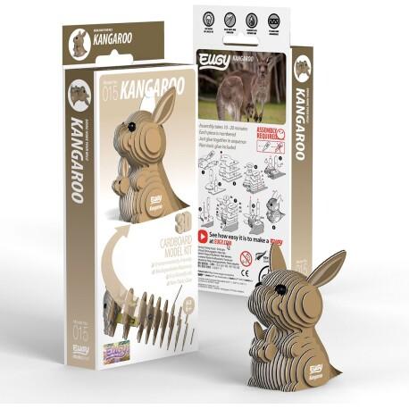 Puzle 3D Canguro Eugy de Dodoland