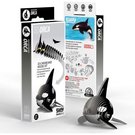 Puzle 3D Orca Eugy de Dodoland