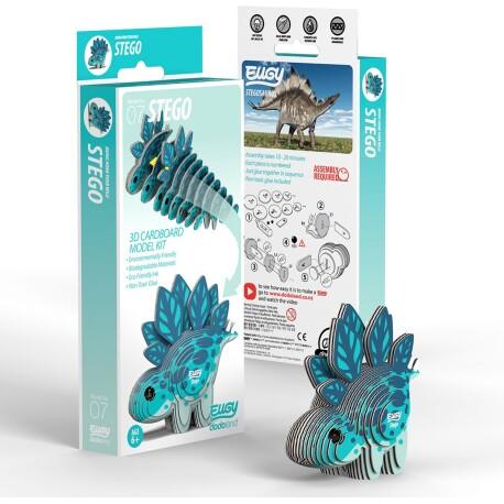 Puzle 3D Stegosaurio Eugy de Dodoland