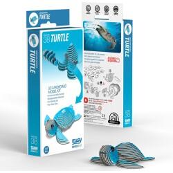 Puzle 3D Tortuga marina Eugy de Dodoland