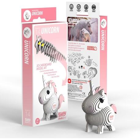Puzle 3D Unicornio Eugy de Dodoland