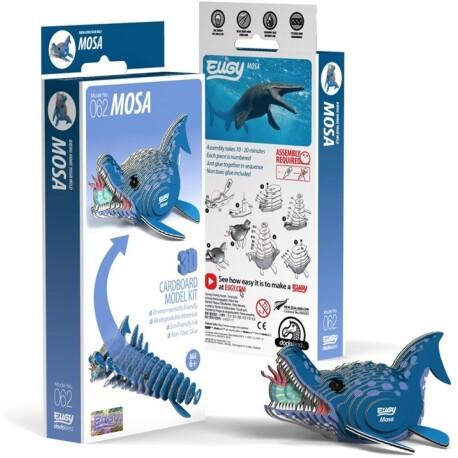Puzle 3D Mosasaurio Eugy de Dodoland