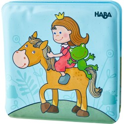 Libro mágico para el baño de la Princesa