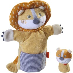 Marioneta del León con leoncito