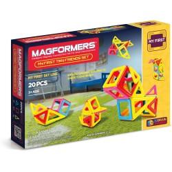 Set de construcción mis primeros amigos (20 piezas magnéticas) - M-702004