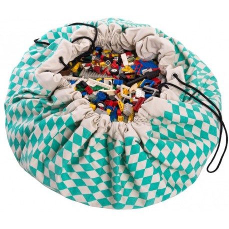 Sacos de juguetes Play & Go Diamond verde - PG-49958