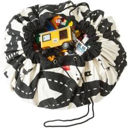 Sacos de juguetes Play & Go Roadmap y rayos - PG-49972