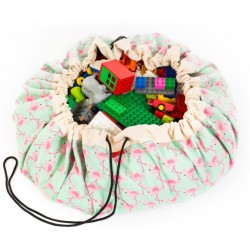 Sacos de juguetes Play & Go Flamingo - PG-49976