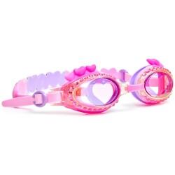 Gafas de natación LUVS ME LUVS NOT True Luv Pink